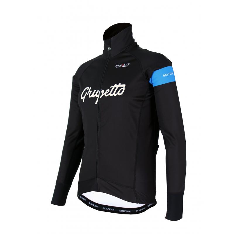 Cycling Winter jacket PRO Blue - GRUPETTO