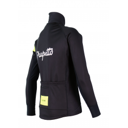 Cycling Winter jacket PRO Fluo yellow - GRUPETTO