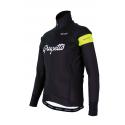 Cycling Winter jacket PRO Fluo yellow - GRUPETTO
