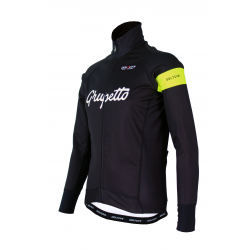 Cyclisme à Veste Winter PRO Fluo yellow - GRUPETTO