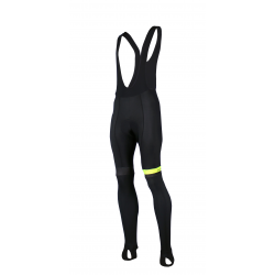 Cycling Bibtight winter PRO Fluo yellow - GRUPETTO
