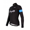 Cycling Jersey Long sleeves PRO Blue - GRUPETTO