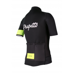 Cycling Jersey Short sleeves PRO Fluo yellow - GRUPETTO