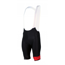 Cycling pant bib PRO Red - GRUPETTO