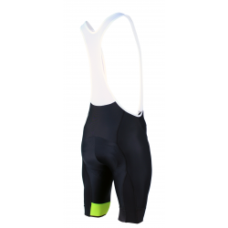 Cycling pant bib PRO Fluo yellow - GRUPETTO