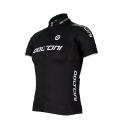 Cycling Jersey Short sleeves ELITE BLACK - KIDS