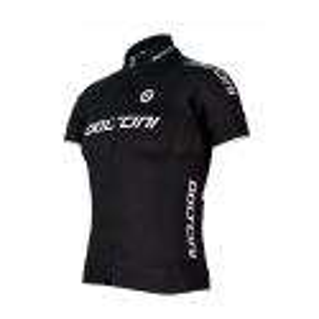 Cycling Kids Jersey Short sleeves ELITE BLACK - KIDS