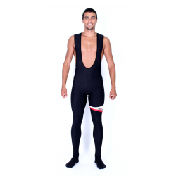 Cycling PantBib 2016 winter with pad red - MALAGA