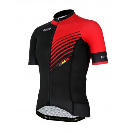 Cycling Jersey Short sleeves PRO Red - FORZA