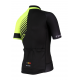 Cycling Jersey Short sleeves PRO Fluo yellow - FORZA