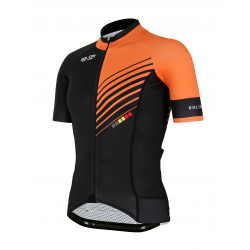 Cycling Jersey Short sleeves PRO Orange - FORZA