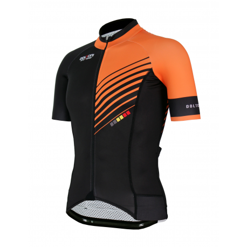 Cycling Jersey Short sleeves PRO Orange - FORZA