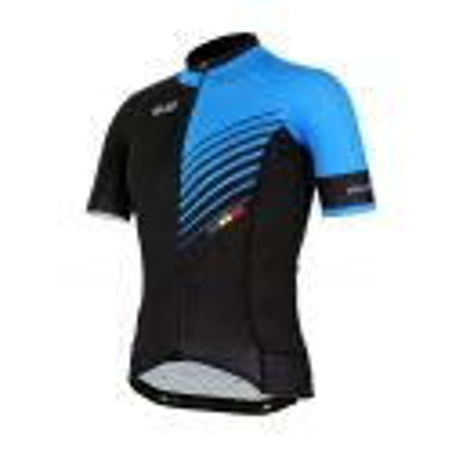 Cyclisme à manches courtes jersey PRO Blue - FORZA