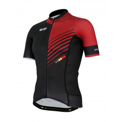 Cycling Jersey Short sleeves PRO Bordeaux - FORZA