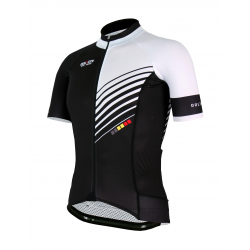 Cycling Jersey Short sleeves PRO White - FORZA KIDS
