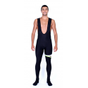 Cycling Bibtight 2016 winter with pad green - MALAGA