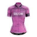 Cycling Jersey Short Sleeves PRO PINK - NOVA LADY