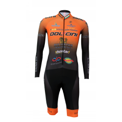 Cycling Aerosuit Long Sleeves PRO- Doltcini TEAM
