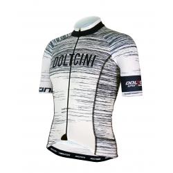Cyclisme à manches courtes jersey PRO White - NOVA