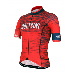 Cyclisme à manches courtes jersey PRO RED - NOVA