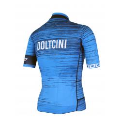 Cyclisme à manches courtes jersey PRO Blue - NOVA