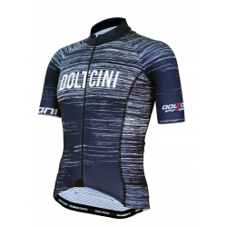 Cyclisme à manches courtes jersey PRO NAVY - NOVA