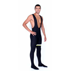 Cycling Bibtight 2016 winter with pad fluo - MALAGA