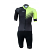 Aerosuit Short sleeves + pad PRO - FORZA Fluo