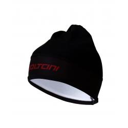 Winter Hat BLACK/BORDEAUX
