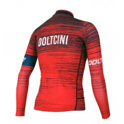 Cycling Jersey Long Sleeves SUMMER PRO NOVA RED