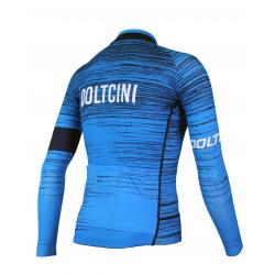 Cycling Jersey Long Sleeves SUMMER PRO NOVA BLUE