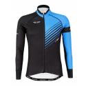 Cyclisme à Maillot manches longues PRO Blue - FORZA