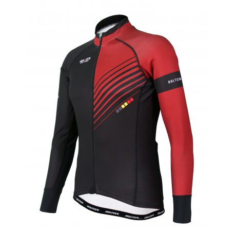 Cycling Jersey Long sleeves PRO Bordeaux - FORZA