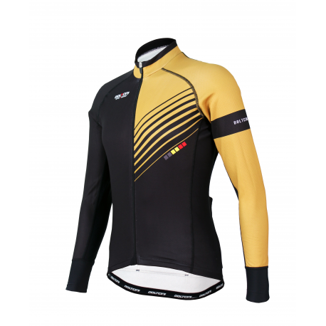 Cycling Jersey Long sleeves PRO Gold - FORZA