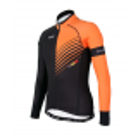 Cyclisme à Maillot manches longues PRO Orange - FORZA
