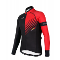 Cycling Jersey Long sleeves PRO Red - FORZA