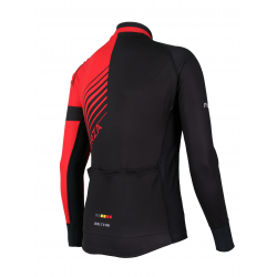 Cyclisme à Maillot manches longues PRO Red - FORZA