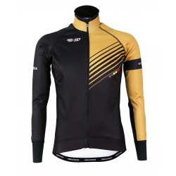 Cyclisme à Veste Winter PRO Gold- FORZA