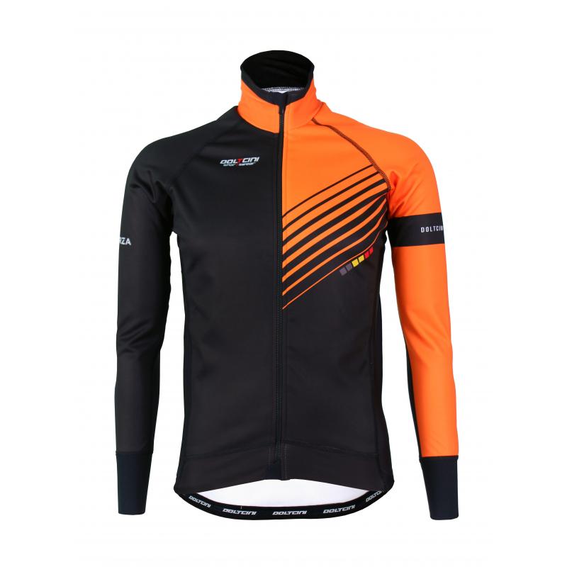 Cyclisme à Veste Winter PRO Orange- FORZA