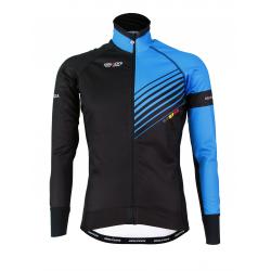 Cyclisme à Veste Winter PRO Blue- FORZA