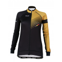 Cycling Jersey Long Sleeves PRO Gold - FORZA lady