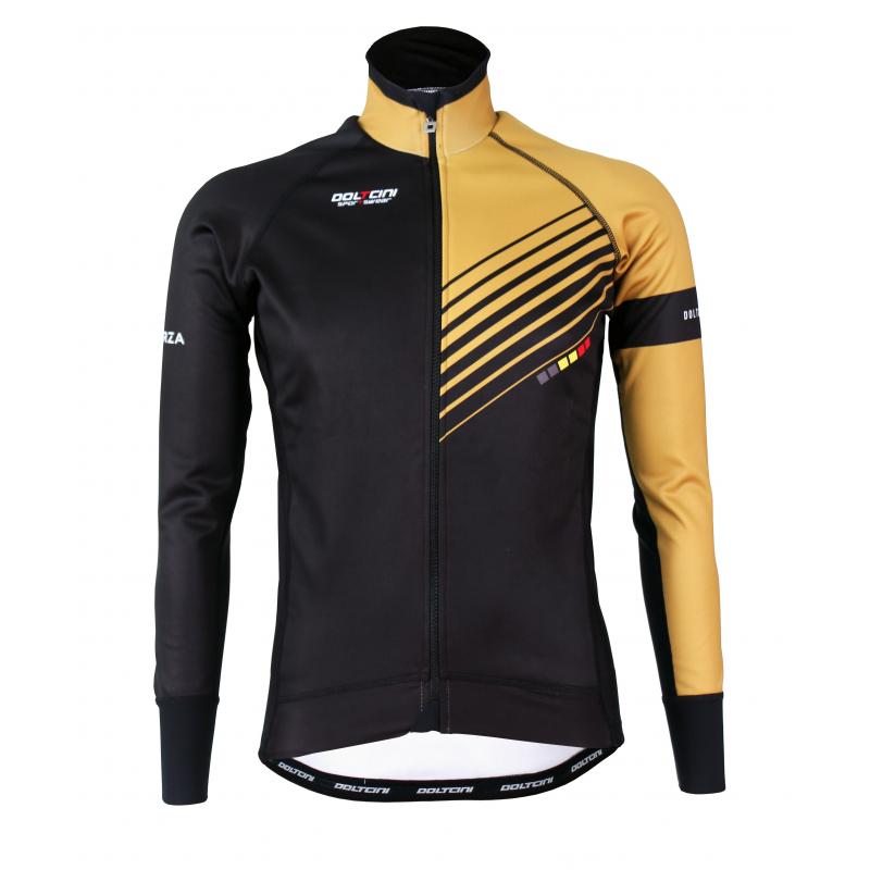 Cycling Winter Jacket PRO Gold - FORZA lady
