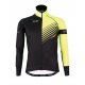 Cycling Winter Jacket PRO Fluo yellow - FORZA KIDS