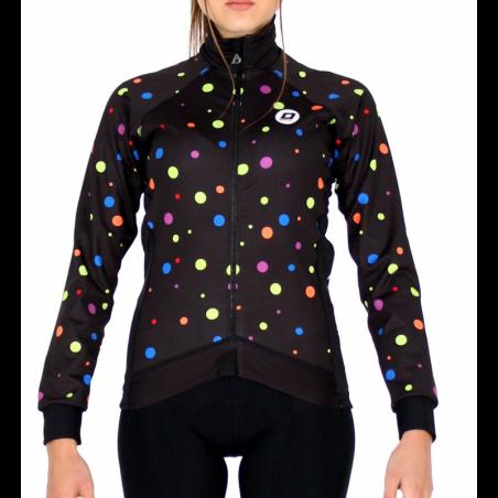 Winter Jacket PRO - DOTS bright