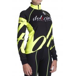 Cyclisme à Veste Winter fluo - BIANCA