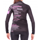 Cycling Jacket Winter PRO FLUO PINK - GANNON