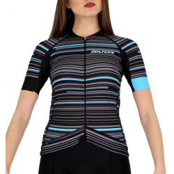 Cycling Jersey Short sleeves pro Turquoise - GANNON