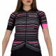 Cycling Jersey Short sleeves pro Fluo/Pink - GANNON