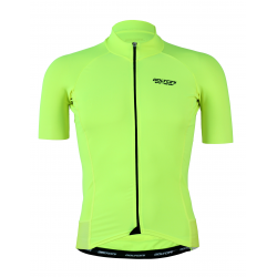 Cycling Jersey Short Sleeves Uni Fluo