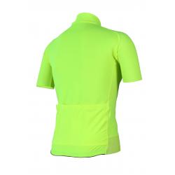 Cyclisme à manches courtes jersey Uni Fluo